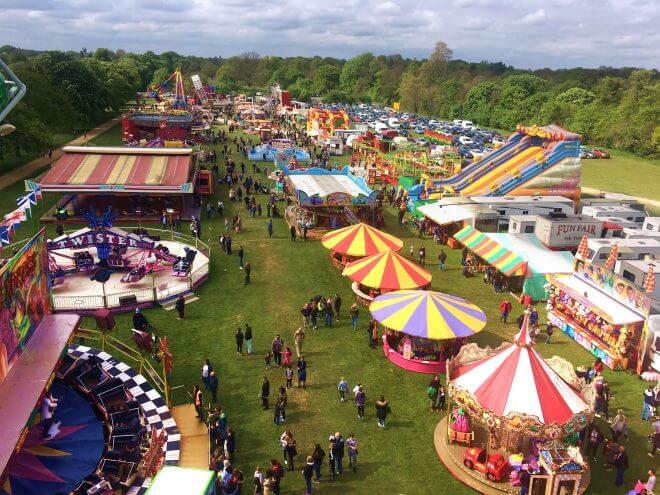 Hampton Court Easter Fair